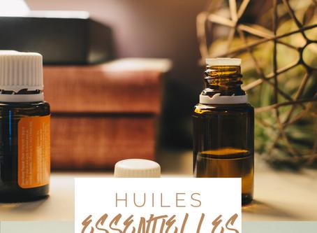 Les huiles essentielles en massothérapie