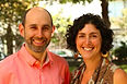 Rabbi Adina Allen and Jeff Kasowitz