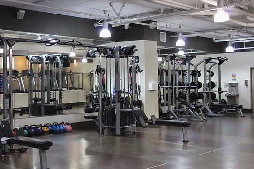 A fitness facility in Vancouver, BC