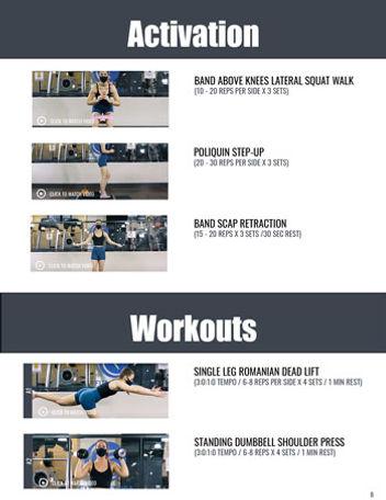 Running Program Exercise PDF Preview