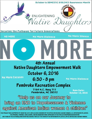 4th Annual Native Daughters Empowerment Walk