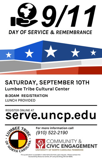 9/11 Day of Service & Remembrance on September 10, 2016