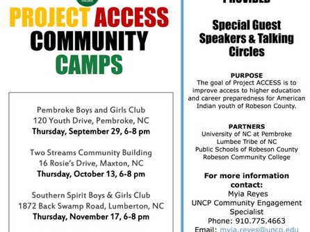 Project ACCESS Community Camps