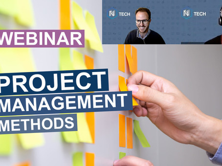 WEBINAR - Introduction to project management methods PRINCE II and PMP