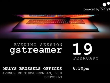Gstreamer evening session - Brussels