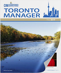 CIM Toronto Manager, Fall 2019 Issue