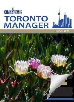 CIM Toronto Manager, Spring 2020 Issue