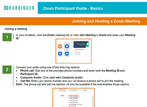 Preview of Zoom Quick Reference Guide