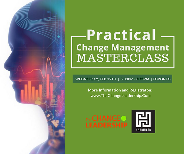 Practical Change Management Masterclass 2020