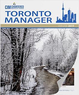 CIM Toronto Manager, Winter 2019 Issue