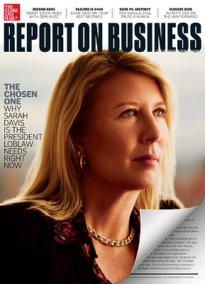 Globe and Mail's Report on Business Magazine, February 2020 Issue