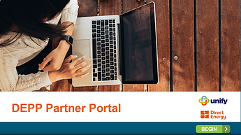 Preview of DEPP Partner Portal e-Learning Course Demo