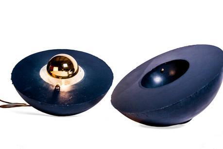 Sandcastles floor lamp - Atelier Ruben van Megen Rube