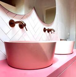 Bathroom sandcastles sink - Atelier Ruben van Megen