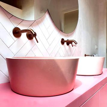 Sandcastles wash basin / sink - Atelier Ruben van Megen