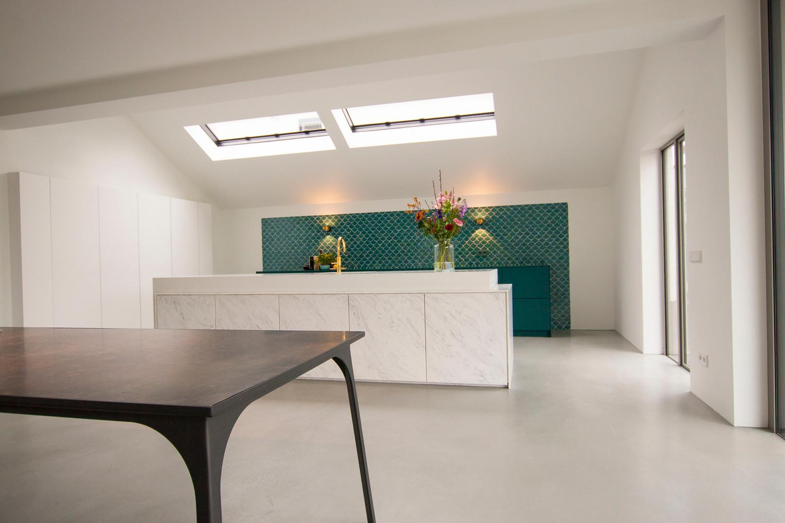 Kitchen solid surface - Atelier Ruben van Megen