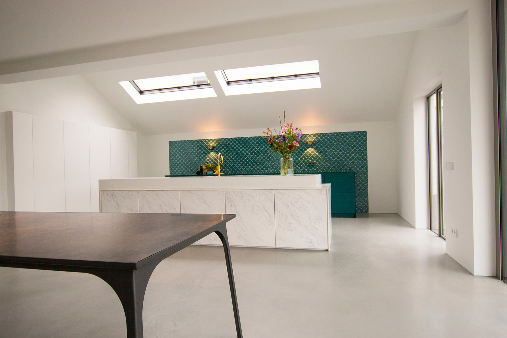 Kitchen solid surface - Atelier Ruben van Megen