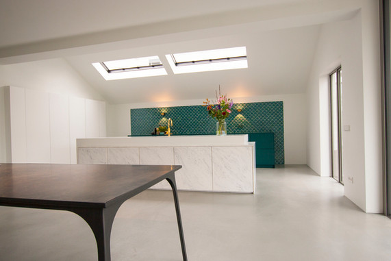 Solid surface kitchen - Atelier Ruben van Megen