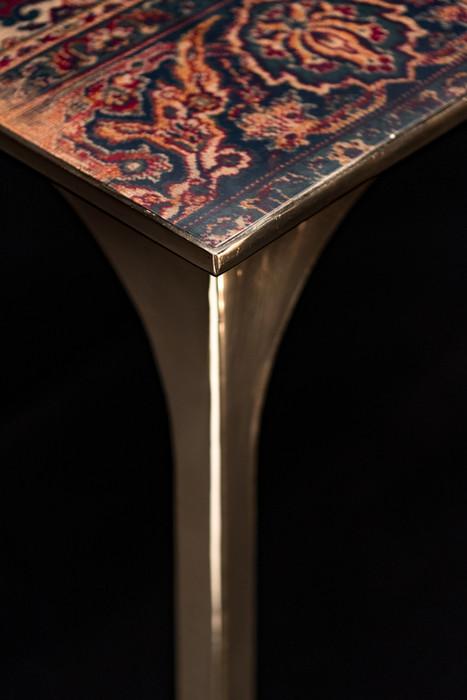 Detail dining table Café 6116 - Atelier Ruben van Megen