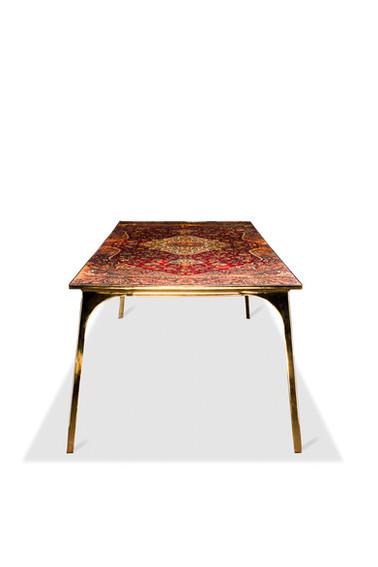 Café 6116 dining table - Atelier Ruben van Megen