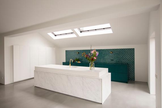 Solid surface kitchen - Atelier Ruben van Megen