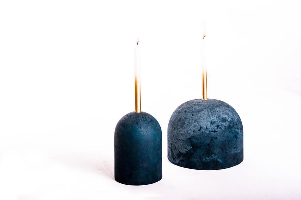 Sandcastles candle holders - Atelier Ruben van Megen