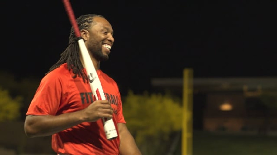 Larry Fitzgerald Celebrity Softball Game 2018