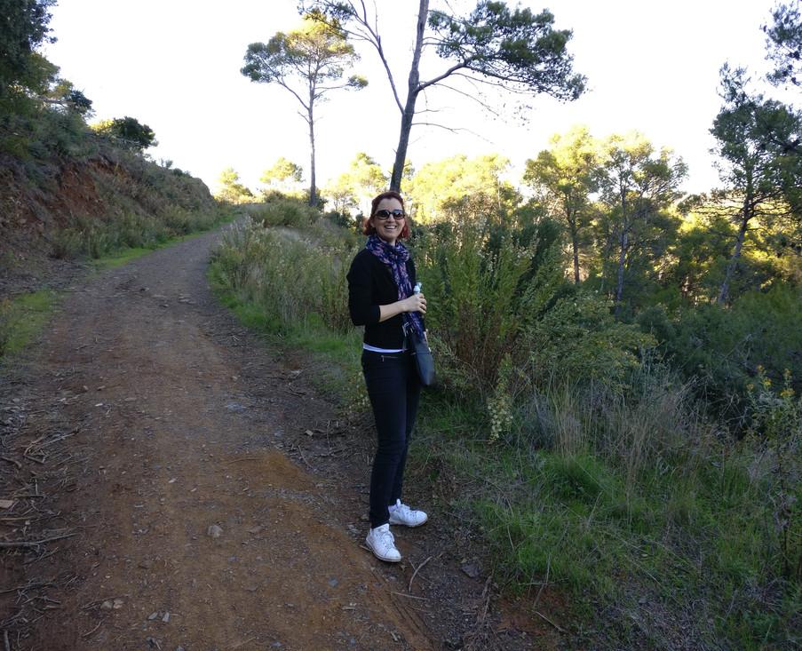 A walk in the Montes de Málaga