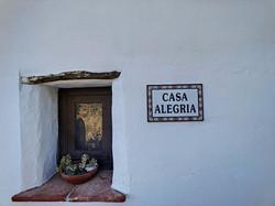 Welcome to Casa Alegría
