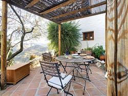 Morning terrace