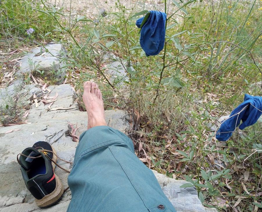 Fresh air for feet