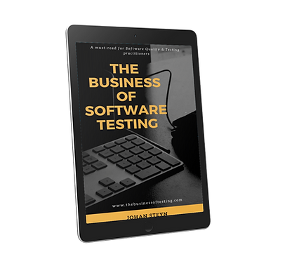 The Business of Software Testing cover 3