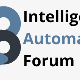 Intelligent Automation Forum (SA) August 2021