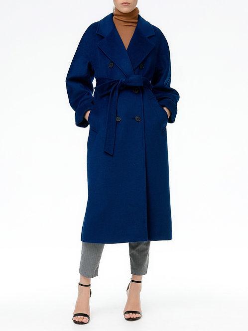 Пальто С-081SkyBlue