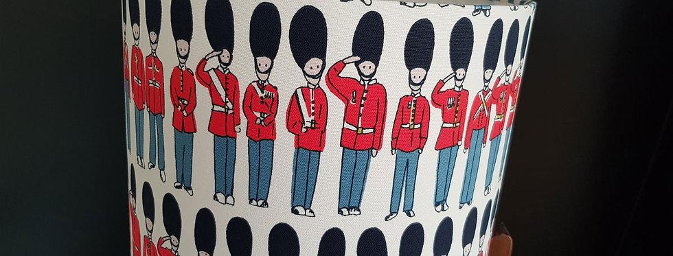 Handmade Drum Lampshade in London Guard