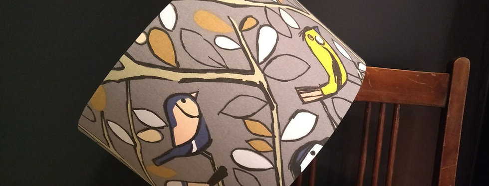 Handmade Drum Lampshade in EW Tweety Bird