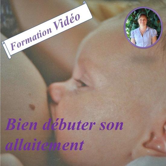 Formation Vidéo bien débuter son allaitement