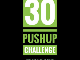 CHALLENGE: 30 PUSH UPS FOR TIME