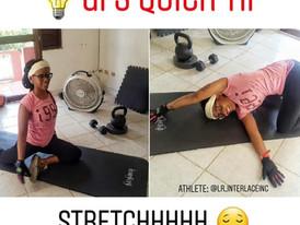 GFS Quick Tip #12: Stretchhhhh