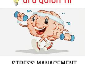 GFS Quick Tip #8: Stress Management