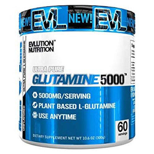 EVL Glutamine 5000 Powder |60servings | Unflavoured
