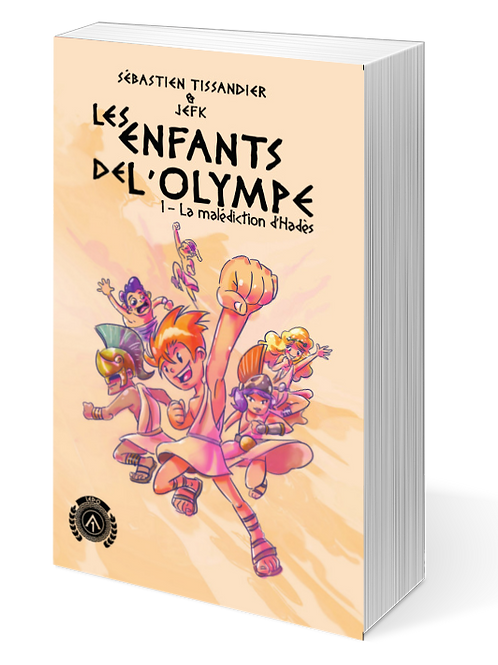 Les enfants de l'Olympe T1