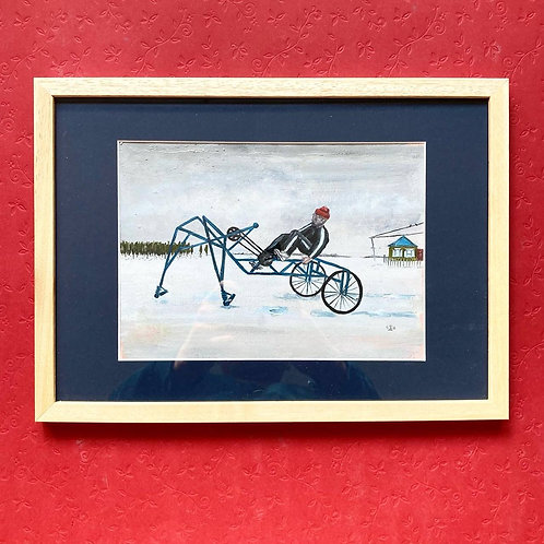 Painting  - Pedal Horse