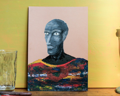 Reptilians - Man in Sweater
