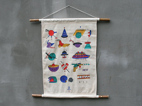 Point 6-17 Wall Hanging
