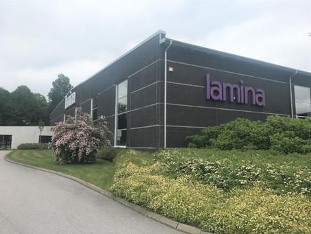 Lamina - Cérémonie d'ouverture pour la nouvelle extension de l'usine de production
