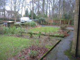 Front Garden Before Earthworks Garden Design