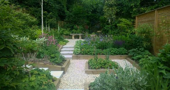 Garden for an Art Deco House, Headingley