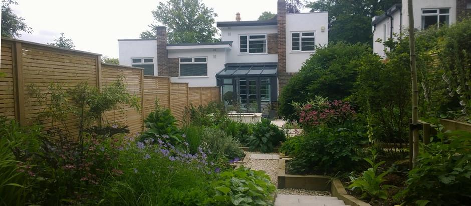 Update on Art Deco Garden, Headingley, Leeds