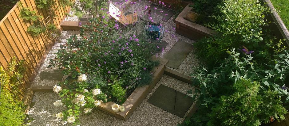 Designing a Site Responsive Garden in an Urban Area